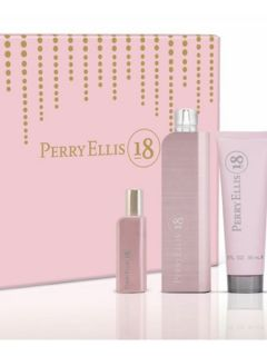 Perry Ellis  Perry Ellis 18 For Women 4pc Gift Set