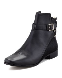Keith Calf Hair & Leather Ankle Boot, Black   Diane von Furstenberg   Black (36.