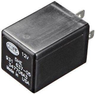 HELLA 931637057 12V 4 Pin 5 sec Solid State Timer Automotive