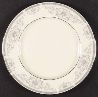 Lenox China Mt. Vernon Dinner Plate, Fine China Dinnerware   Presidential,Gray S