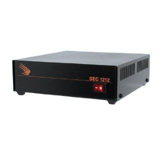 Samlex SEC 1212 Desktop Switching Power Supply Input: 120 VAC, Output: 13.8 VDC, 10 Amps UL Approved : Vehicle Power Inverters : Car Electronics