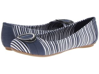 Dr. Scholls Franca Womens Flat Shoes (Navy)