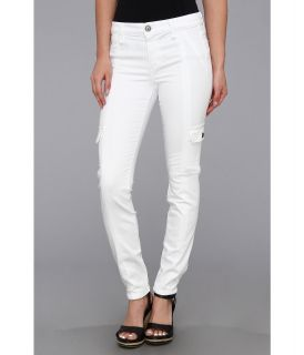 Joes Jeans Jane Military Colors Skinny Ankle Cargo Jean Womens Jeans (White)