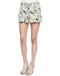 Womens Tropical Printed/Check Shorts   French Connection   Multi (6)