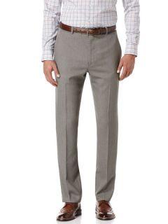 Perry Ellis Mens Slim Fit Textured Solid Suit Pant