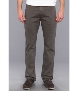 AG Adriano Goldschmied Graduate Tailored Straight Sueded Stretch Sateen Mens Casual Pants (Gray)