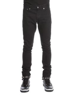 Mens 3 Star Faded Jeans, Black   Givenchy   Black (34)