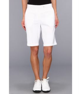 PUMA Golf Solid Tech Bermuda Golf Short 14 Womens Shorts (White)