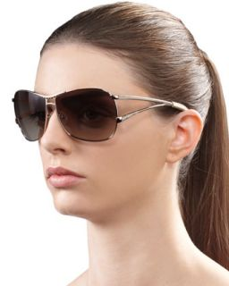 Catchy Crystal Encrusted Sunglasses, Golden   Jee Vice   Gold/Bronze