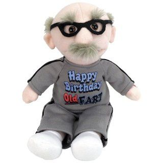Animated Farting Old Fart Toy! Milestone Birthday Gag for Over the Hill Guy: Toys & Games