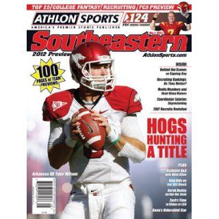 Athlon Sports 2012 College Football Southeastern (SEC) Preview Magazine  Arkansas Razorbacks Cover: Athlon Sports: Books