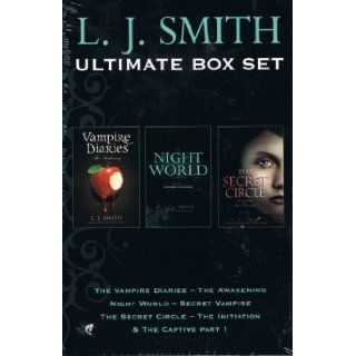 L J Smith 3 Book Box Set Vampire Diaries The Awakening, Night World Sec L J Smith 8601400710852 Books