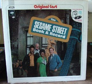 The Sesame Street Book and Record  Original Cast Music