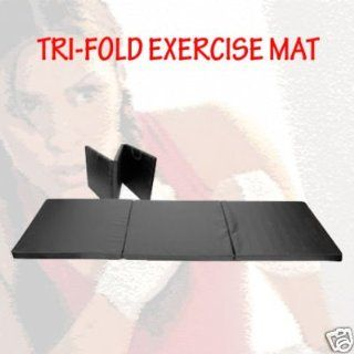 Seen On TV Exercise Quality Tri Fold Exercise Mat (Best selling in fitness store)  Sports & Outdoors