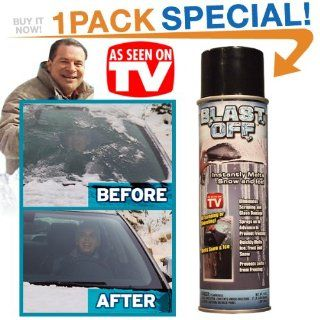 Blast Off Spray De icer As Seen On TV, Melt Snow and Ice Fast, Jumbo Can  Snow And Ice Melting Products  Patio, Lawn & Garden
