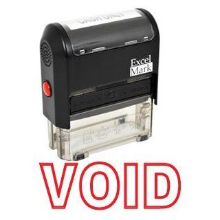 VOID Self Inking Rubber Stamp   Red Ink (42A1539WEB R) : Business Stamps : Office Products