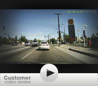 Abeo HDVR 150 Car DVR Accident Camera Video Recorder Rear View Mirror type : Vehicle Backup Cameras : Car Electronics
