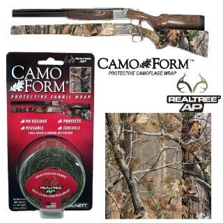"Camo Form ""Realtree AP"" Camouflage Gun & Gear Self Cling Stretch Wrap : Hunting Camouflage Accessories : Sports & Outdoors"