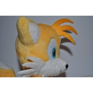 "Official Nintendo Sonic the Hedgehog Plush Toy   6"" Tails (Japanese Import): Toys & Games"