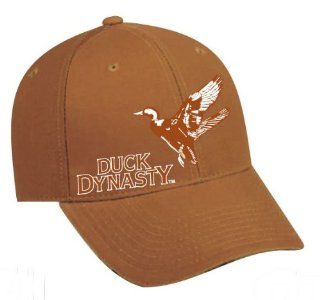 Duck Dynasty Officially Licensed Hunting Hats Cap   Several Styles Available (Brown Duck) : Fishing Hats : Sports & Outdoors