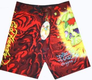 Men's Ed Hardy Swim Trunks Bathing Suit Available in Several Sizes (32) at  Men�s Clothing store