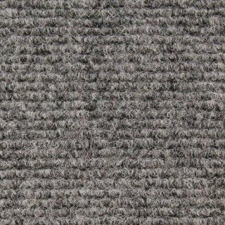 Indoor/Outdoor Carpet with Rubber Marine Backing   Gray 6' x 15'   Several Sizes Available   Carpet Flooring for Patio, Porch, Deck, Boat, Basement or Garage   Area Rugs