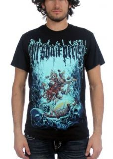 All Shall Perish   Mens Deep Sea T Shirt in Black: Clothing