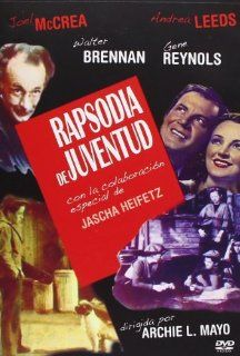 They Shall Have Music ( Ragged Angels (Melody of Youth) ) [ NON USA FORMAT, PAL, Reg.0 Import   Spain ]: Joel McCrea, Jascha Heifetz, Andrea Leeds, Gene Reynolds, Walter Brennan, Terry Kilburn, Porter Hall, Walter Tetley, Chuck Stubbs, Tommy Kelly, Archie