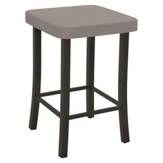 Barstool: Amisco Ryan Counter Stool   Brown