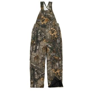 Carhartt Boys Washed Work Camo Bib Overall 731025