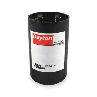 DAYTON 2MET8 Motor Start Capacitor, 216 259 MFD, Round