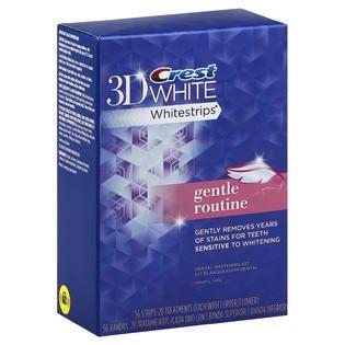 Crest 3D White Whitestrips Dental Whitening Kit, with Advanced Seal