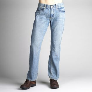 Roebuck & Co. Mens Slim Medium Stonewash Jeans   Clothing, Shoes