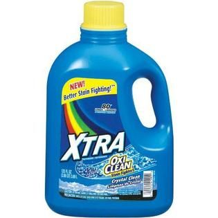 Xtra Liquid Laundry Plus Oxi Clean Concentrate, 125 oz.   Food