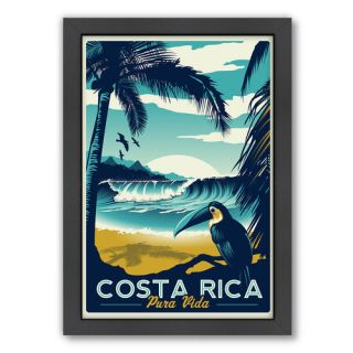 Costa Rica Framed Vintage Advertisement by Americanflat