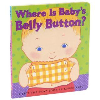 Simon & Schuster Where Is Babys Belly Button by Karen Katz   16895204