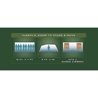 ... Coleman Elite Montana 8 Person Dome Tent with LED Light ...  sc 1 st  PopScreen & Coleman Elite Sundome 12x10 Six person Tent