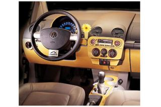 2001 2005 Volkswagen Beetle Wood Dash Kits   B&I WD247E DCF   B&I Dash Kits