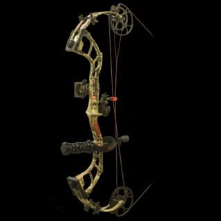 PSE Bow Madness 32 RTS Bow Package LH 50 lbs. Break Up Infinity
