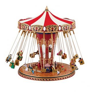 "Mr. Christmas ""World's Fair Swing Carousel"" Musical Ornament"