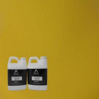 Alsa Refinish 1 gal. Yellow Paint Wrap Kit Removable Paint PW YLGKit