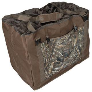 Deluxe 12 Slot Full Body Duck Decoy Bag