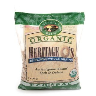 Natures Path Organic Heritage Os Heirloom Whole Grains Cereal, Ancient Grains Kamut, Spelt & Quinoa
