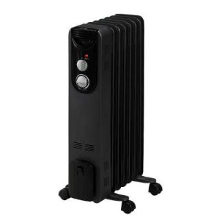 Duraflame 600 Watt Convection Electric Oil Filled Radiant Portable Heater DFH CH 11 T
