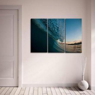 Nicola Lugo 'Surf Photography' Canvas Art 3 piece Set