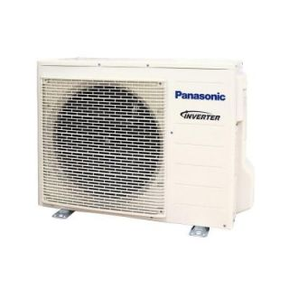 Panasonic 9,000 BTU 3/4 Ton Ductless Mini Split Air Conditioner with Heat Pump   230 or 208V/60Hz (Outdoor Unit Only) CU XE9PKUA
