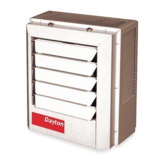 DAYTON Electric Unit Heater, Vertical or Horizontal, Voltage 208, 10.0 kW, 1 or 3 Phase   Electric Unit Heaters   2YU71|2YU71