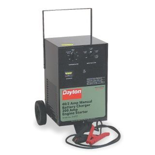 DAYTON Battery Charger/Starter   Automotive Battery Chargers and Boosters   3LE83|3LE83