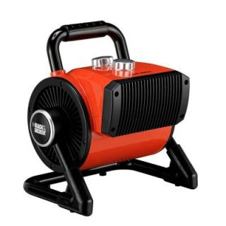 BLACK+DECKER 1500 Watt Utility Ceramic Blow Fan Heater BDH 105