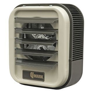 QMARK Electric Unit Heater, Wall or Ceiling, Vertical or Horizontal, Voltage 208/240, 18.7/25.0 kW   Electric Unit Heaters   20CA26|MUH252